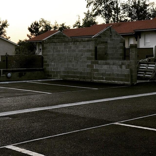 Création d'un parking privé à Mios