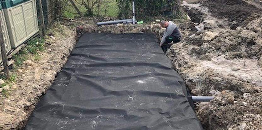 Système de stockage d'eaux pluviales Gradignan